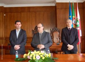 As bolsas de4 estudo foram entregues pelo presidente da autarquia, Nuno Gonçalves | Foto: Direitos Reservados