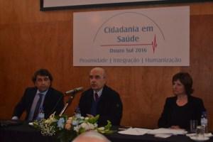 Na foto: Domingo Nascimento, António Marques Luís, Helena Norinha