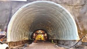 O Túnel deverá abrir ao público em meados de abril/ Foto: Direitos Reservados