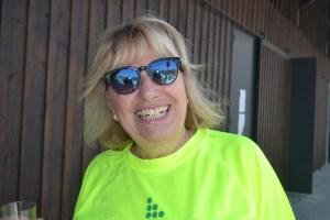 Margarida Brito participou na Caminhada