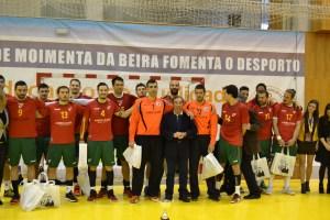 Vitória lusa no Torneio Internacional de Andebol Terras do Demo em Moimenta da Beira/ Foto: Salomé Ferreira