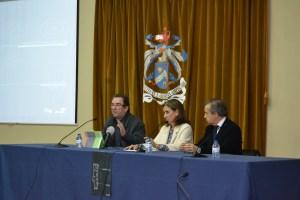 Apresentação da pós-graduação em Jornalismo Regional/ Foto: Salomé Ferreira