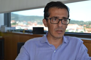 José Damião, vice-presidente da Câmara Municipal de Tarouca/ Foto: Salomé Ferrreira
