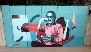 Mural dedicado à Olaria de Bisalhães / Foto: Direitos Reservados