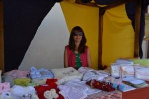 Sara Ferrujão, comerciante no Mercado Pombalino / Foto: Salomé Ferreira