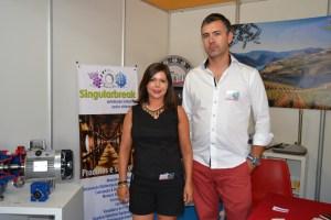 José Manuel Natário e a sua esposa, empresários / Foto: Salomé Ferreira