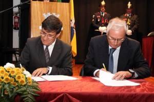 Assinatura do Protocolo GAE | Foto: Direitos Reservados
