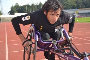 Mário Trindade, atleta Paralímpico natural de Vila Real/ Foto: Salomé Ferreira
