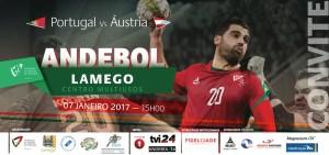 Andebol: Multiusos de Lamego acolhe Portugal vs Áustria/ Foto: Direitos Reservados