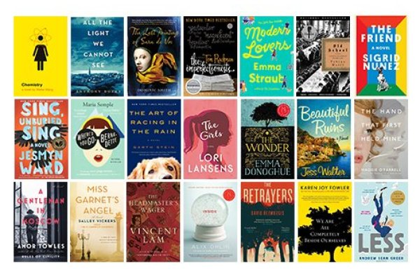 52 novels to read during the pandemic