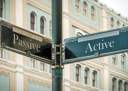 active and passive scenes