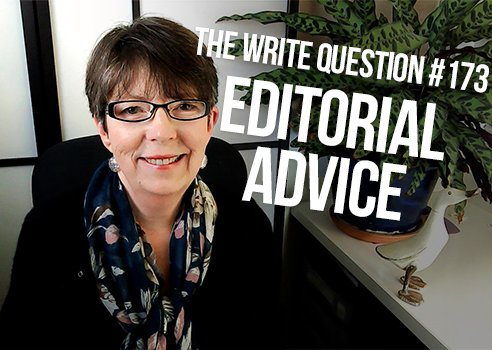 struggling with advice from an editor
