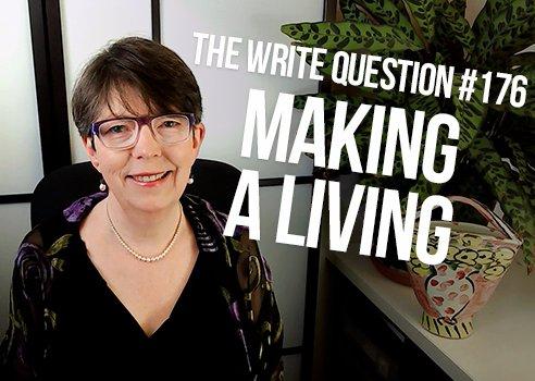 make a living as a writer