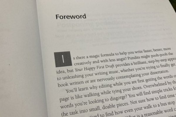 What makes a good foreword?