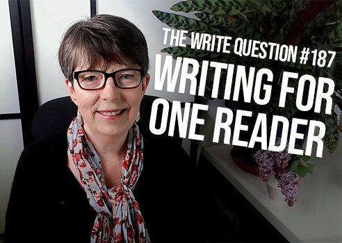 how do you write for one reader?