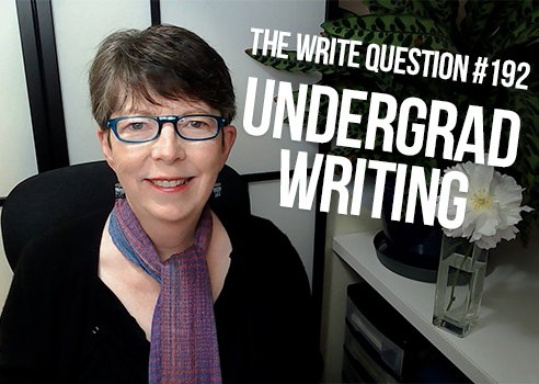 undergrad writing