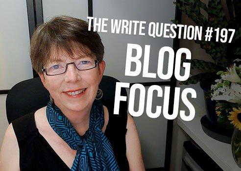 narrow focus for blog