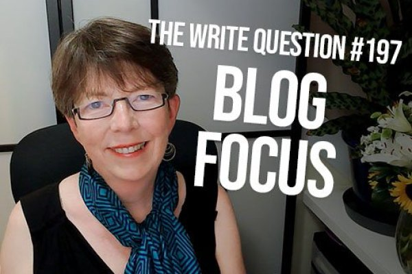 How can you narrow the focus for your blog? (video)