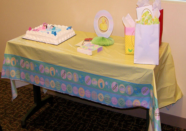 Decorated Baby Shower Table Free Stock Photo Public