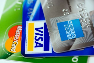Drei Kreditkarten