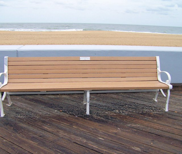 Bench On The Boardwalk