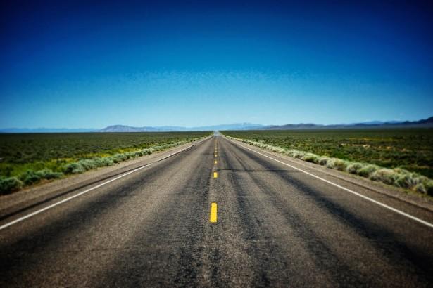 Empty Road In American West Free Stock Photo Public