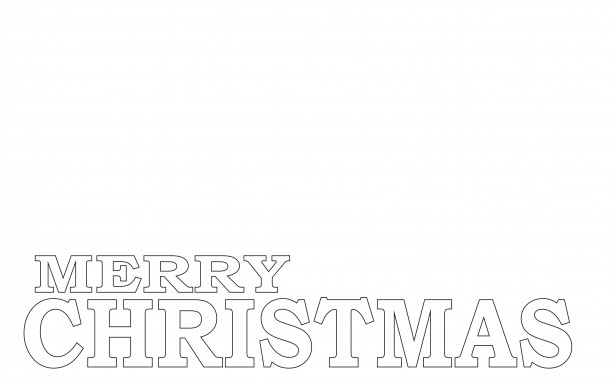 merry christmas coloring page free stock photo public domain