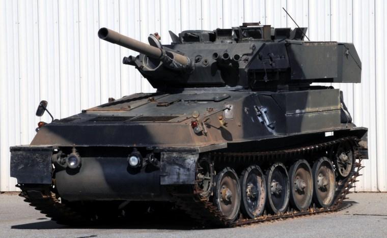 Army War Tank