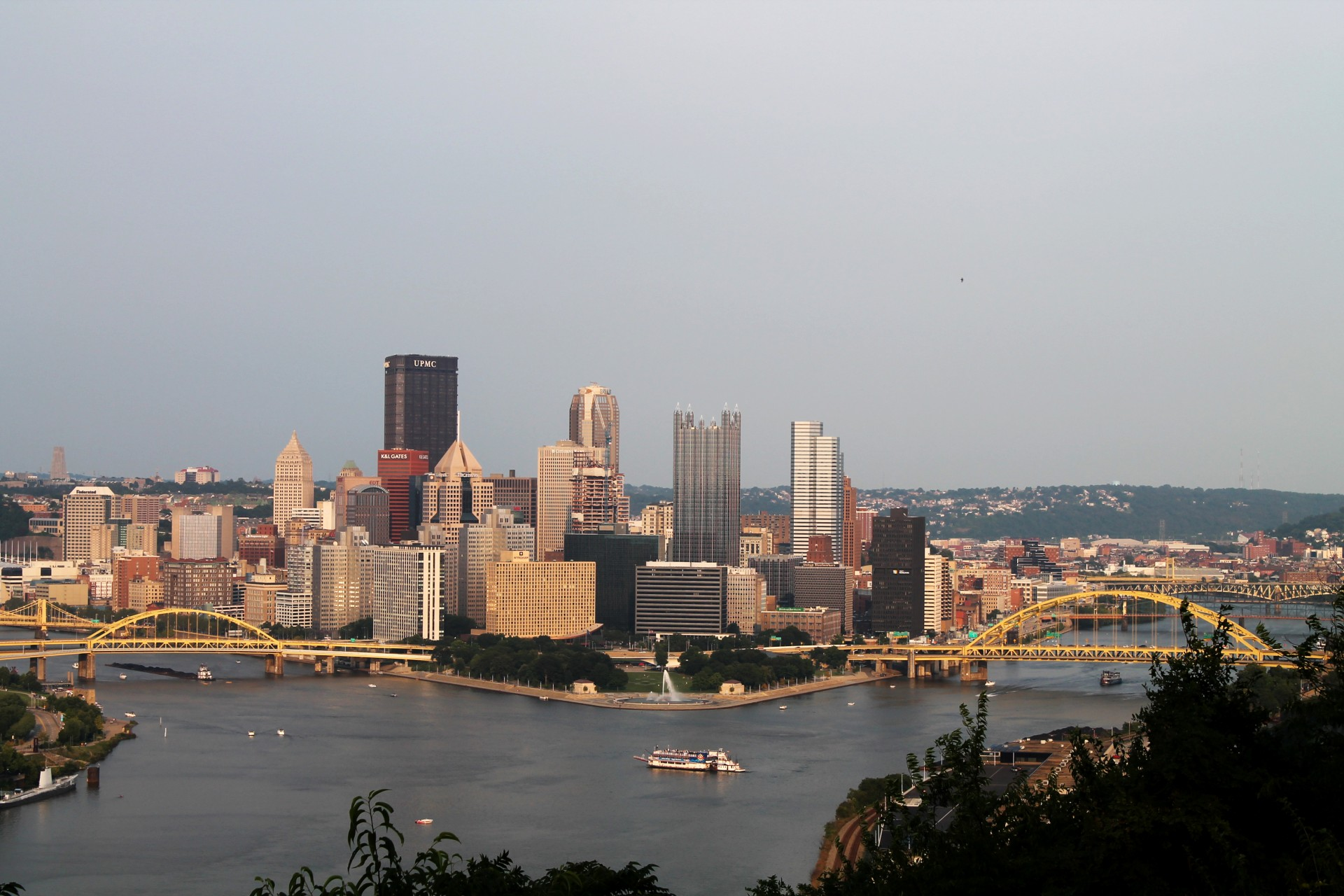 Pittsburgh West End Overlook 04 Free Stock Photo