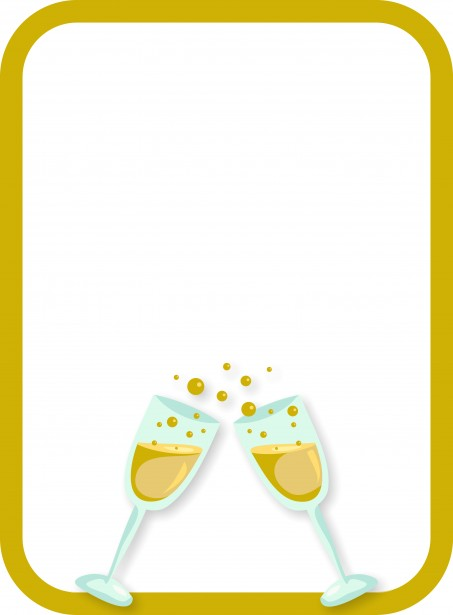 Champagne Border Free Stock Photo Public Domain Pictures