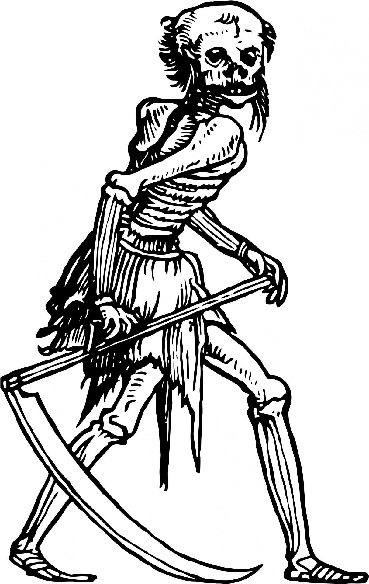 Grim Reaper Free Stock Photo