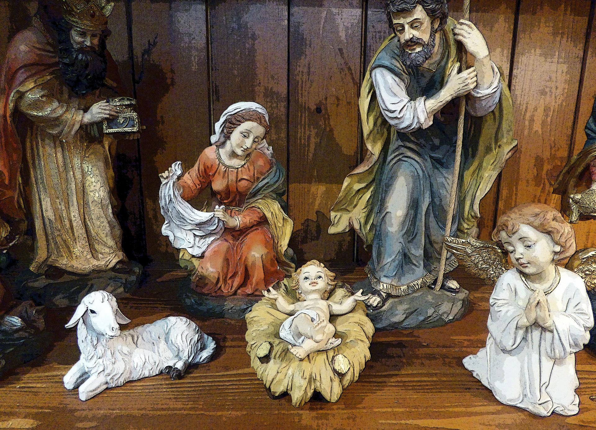 Nativity Scene Free Stock Photo Public Domain Pictures