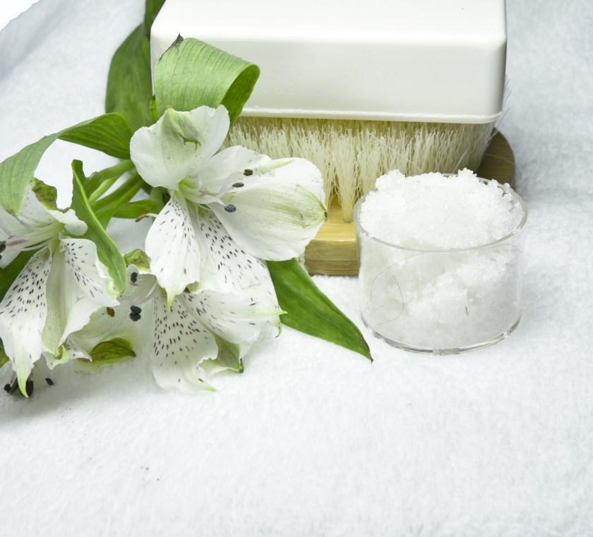 sarea de baie pentru ingrijirea corpului
