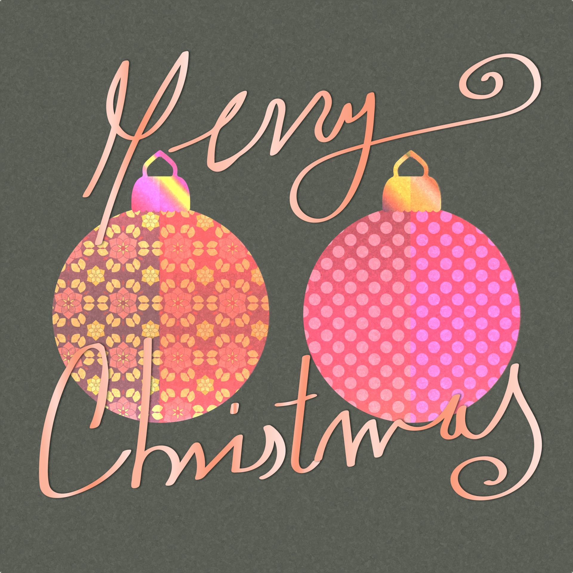 Merry Christmas Card Background Free Stock Photo Public