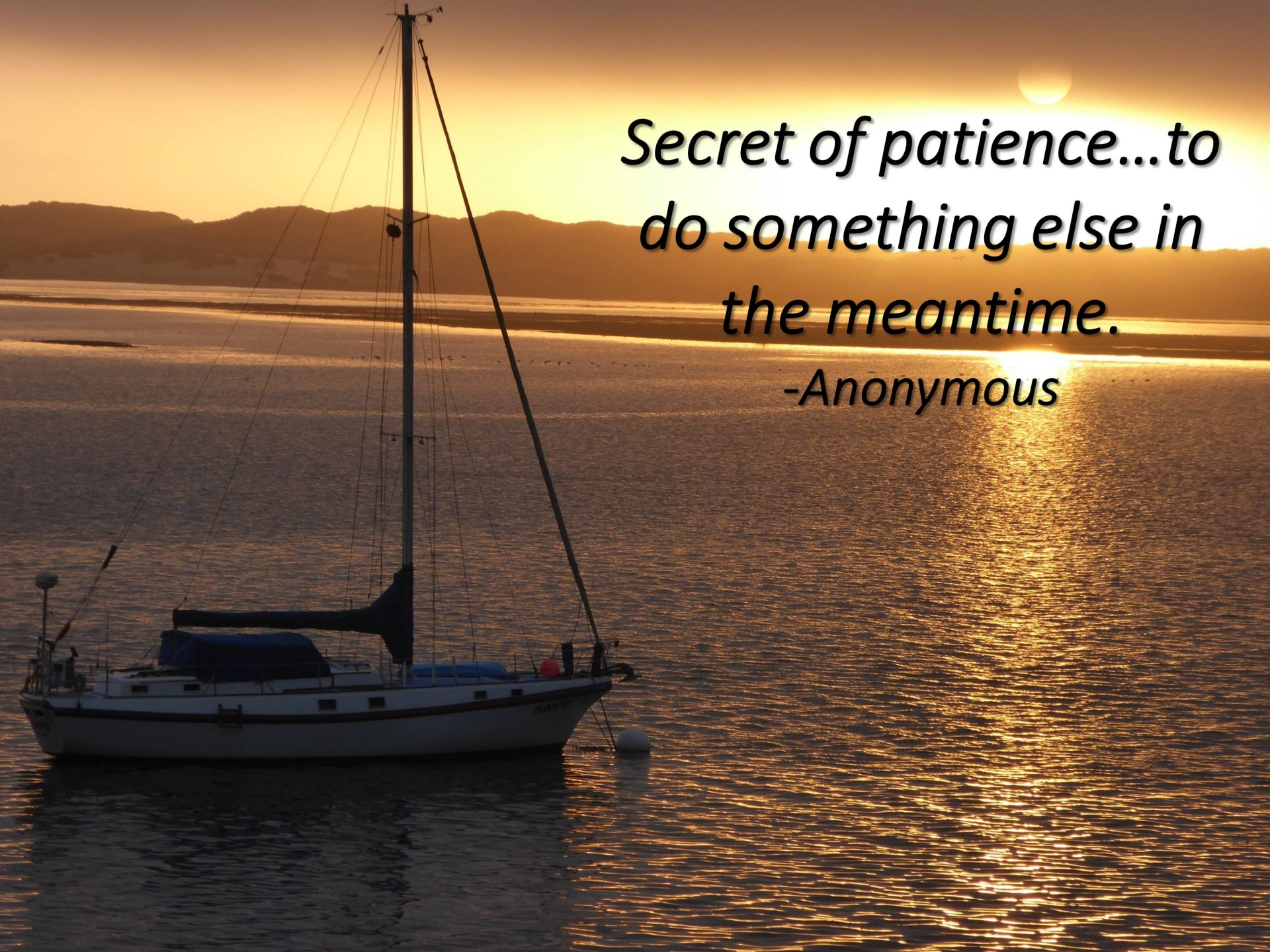 Patience, Inspirational Quote, Poetry