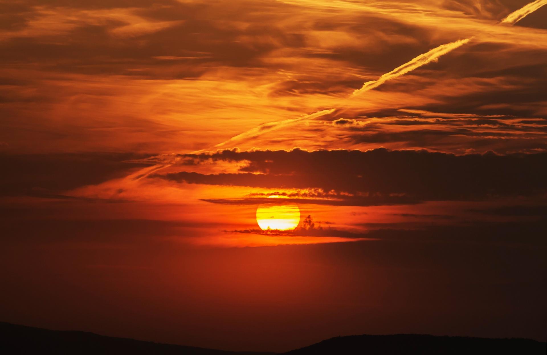 Romantic Sunset Free Stock Photo Public Domain Pictures