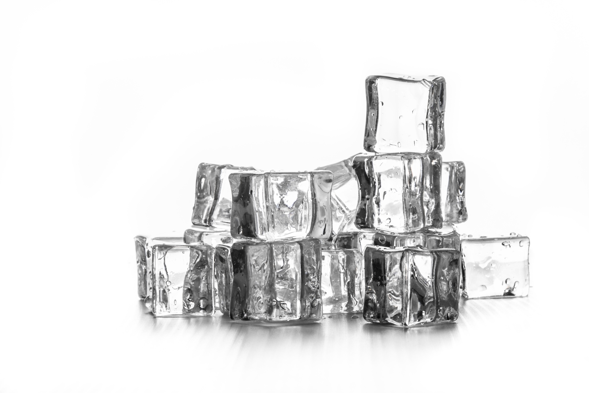 Ice Cubes Free Stock Photo