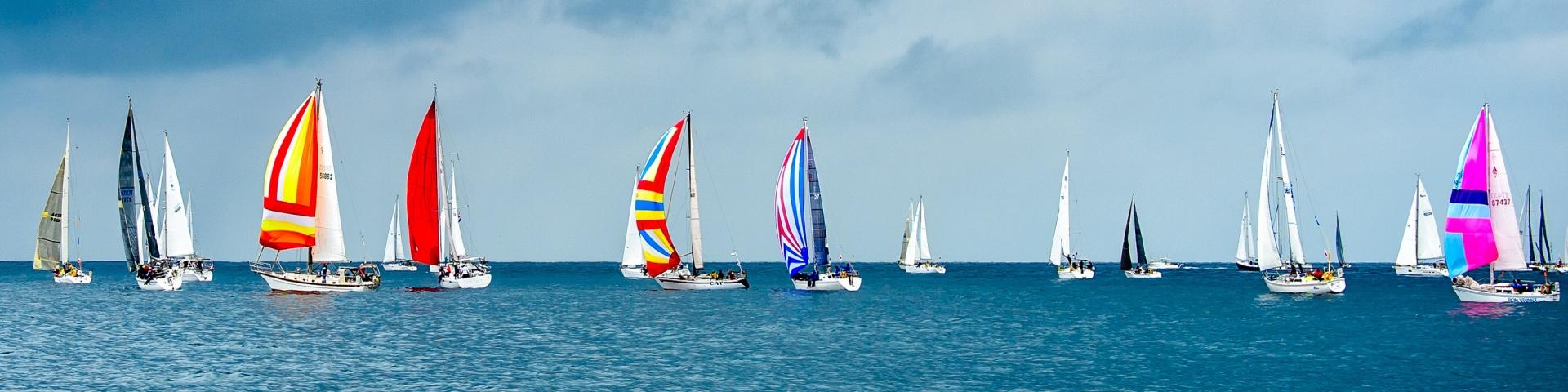 sailing, sailboats