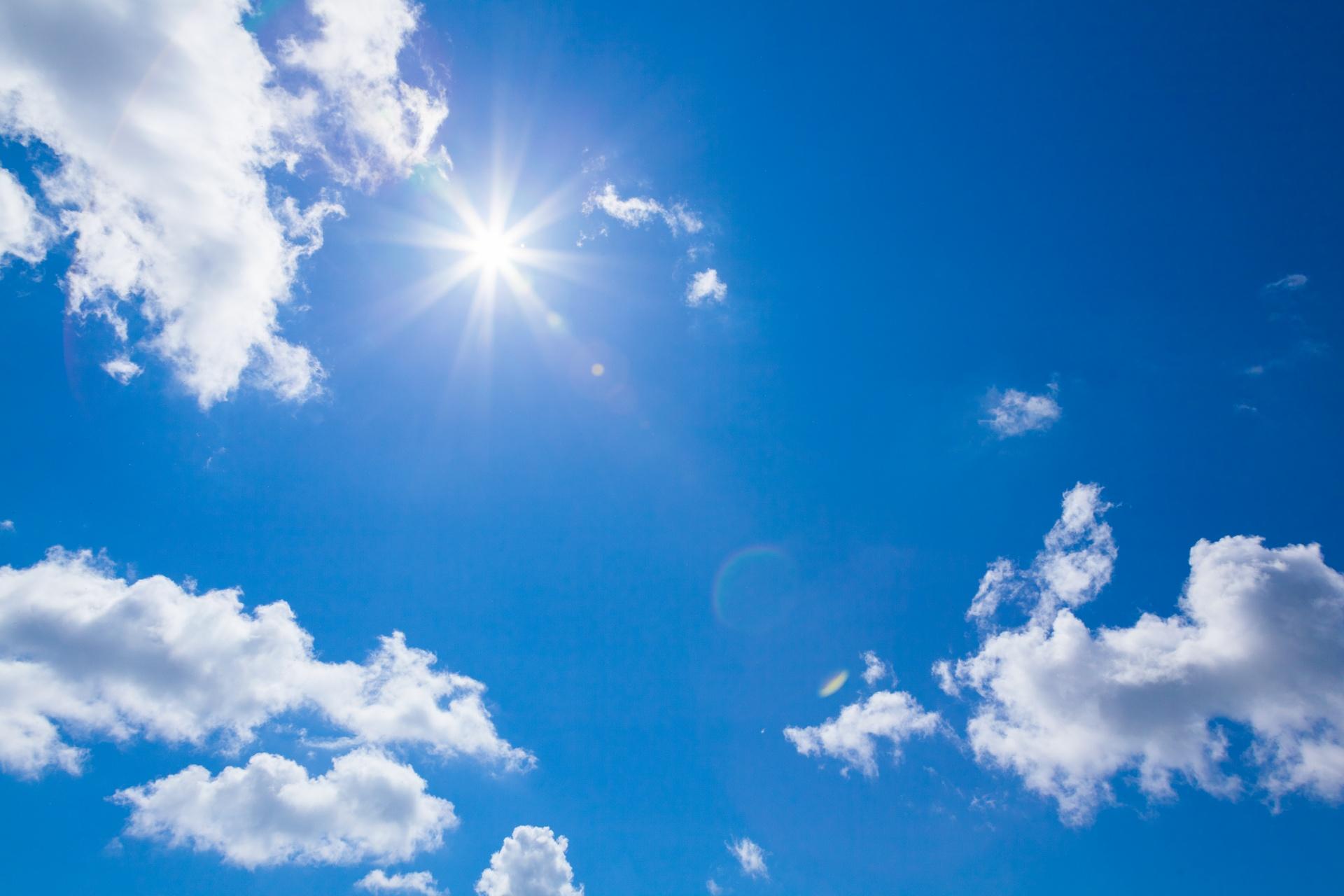 Image result for blue sky public domain image