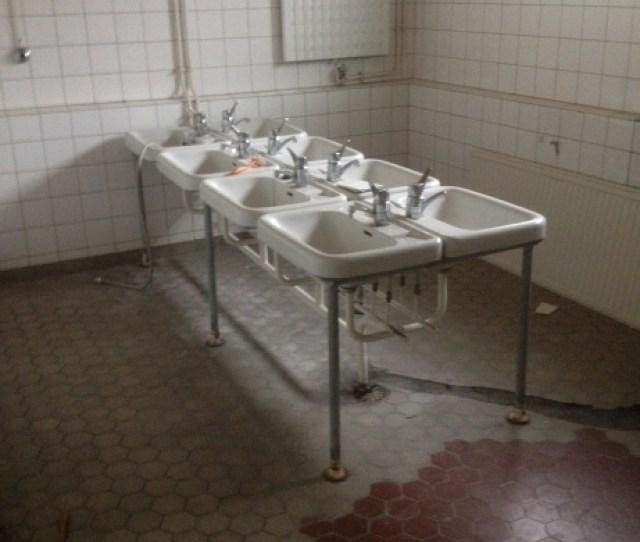 Sinks In Old Bathroom