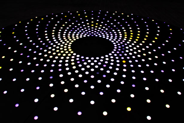 Abstract Light Dots