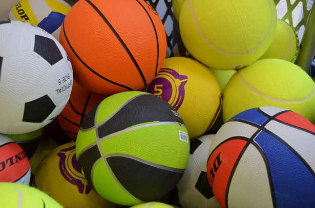 Athletic Balls, Sports Balls, Wilson, Spalding, Baden