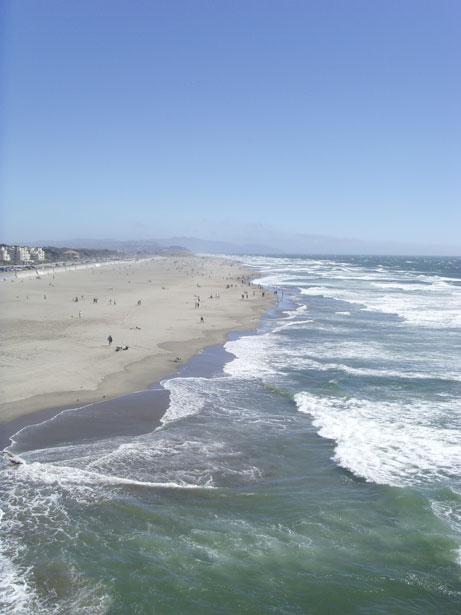 Ocean Shore Landscape Free Stock Photo Public Domain