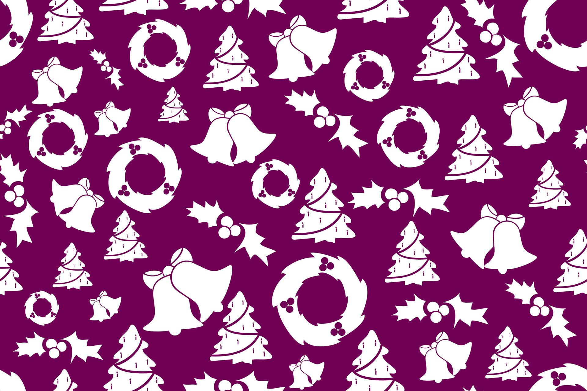 Púrpura de fondo de Navidad