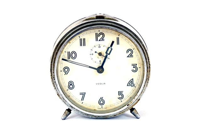 Old Alarm Clock Free Stock Photo