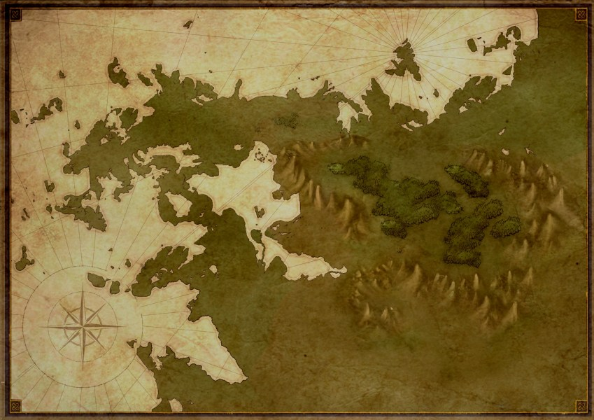 Fantasy Blank Map Free Stock Photo   Public Domain Pictures Fantasy Blank Map