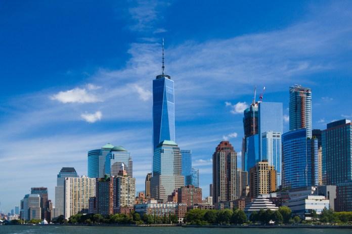 Skyline di New York Immagine gratis - Public Domain Pictures