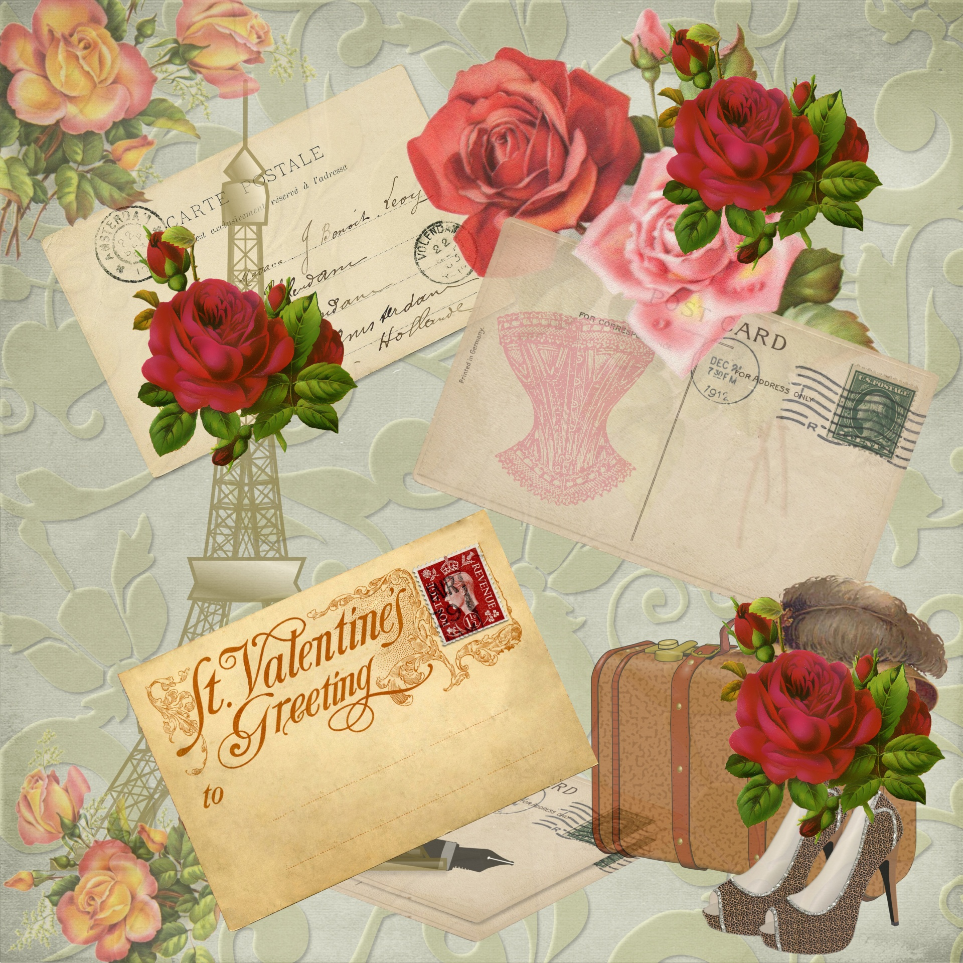Valentine's Day, St. Valentine's Day, Love, Romance