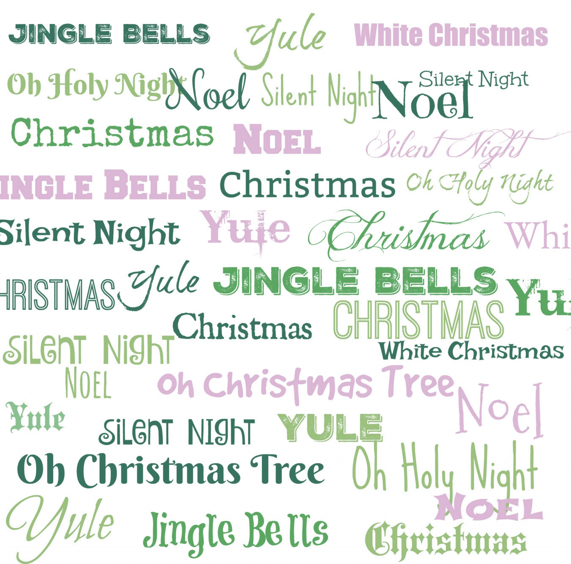 Rockin Around The Tree Christmas Sheet Music In Words