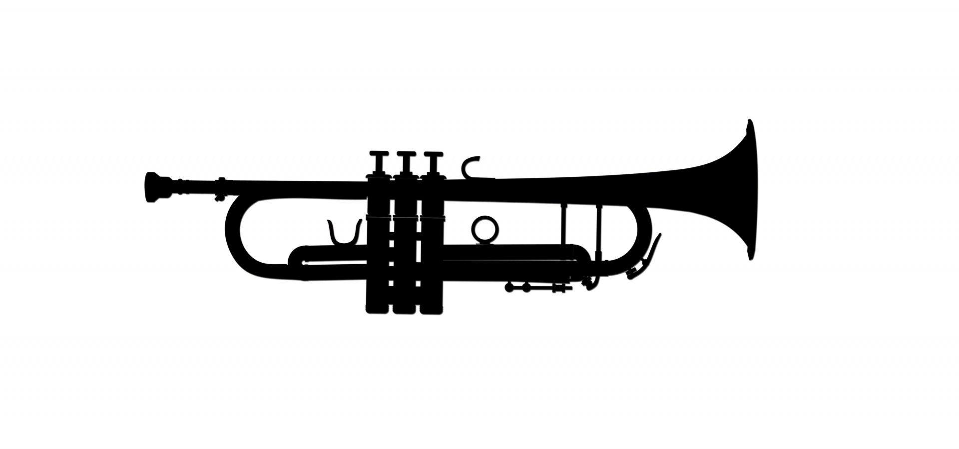 Trumpet Musical Instrument Clipart Free Stock Photo